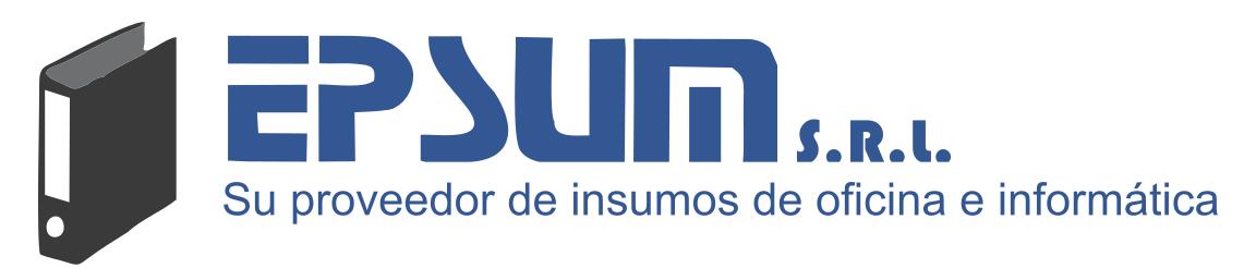 Insumos de oficina e informática – EPSUM S.R.L.