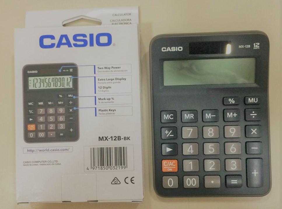calculadora casio de escritorio