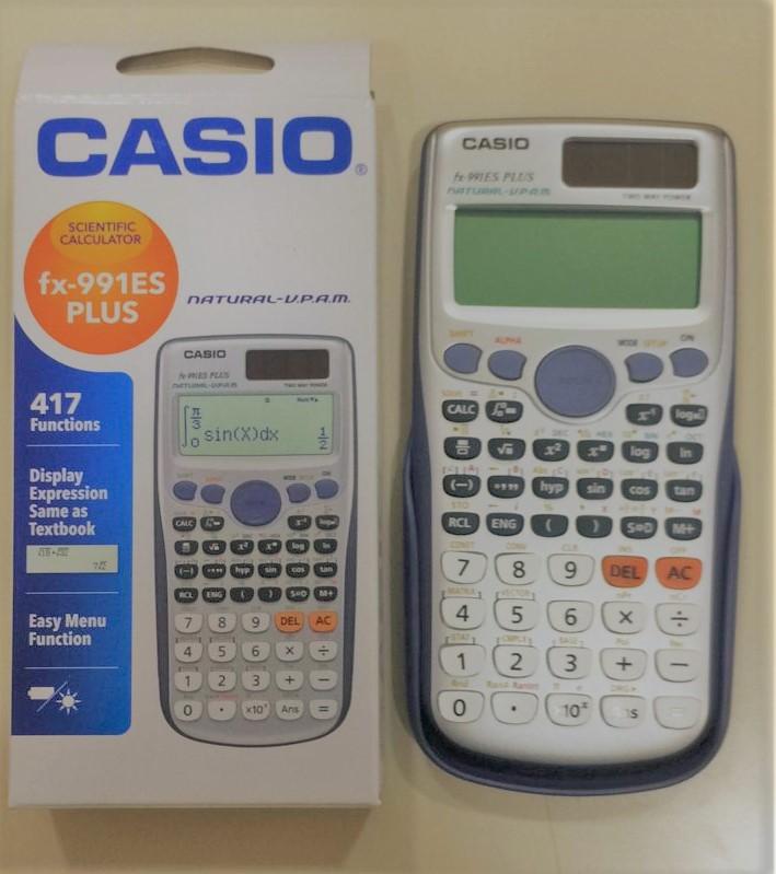calculadora casio tecnico cientifica